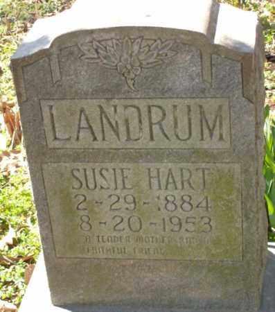 LANDRUM, SUSIE HART - Crittenden County, Arkansas | SUSIE HART LANDRUM - Arkansas Gravestone Photos