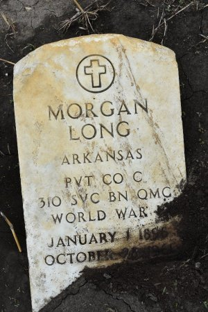 LONG (VETERAN WWI), MORGAN - Crittenden County, Arkansas | MORGAN LONG (VETERAN WWI) - Arkansas Gravestone Photos