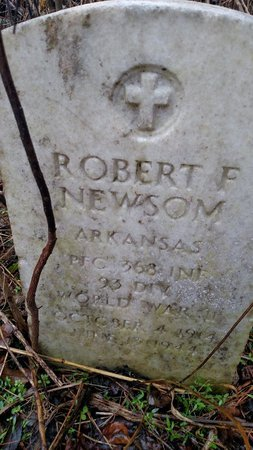 NEWSOM (VETERAN WWII), ROBERT F - Crittenden County, Arkansas | ROBERT F NEWSOM (VETERAN WWII) - Arkansas Gravestone Photos