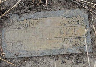 RICE, UNTAVIUS - Crittenden County, Arkansas   UNTAVIUS RICE - Arkansas Gravestone Photos