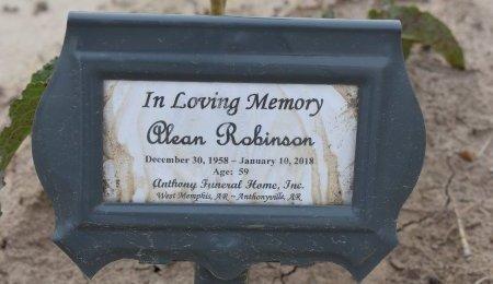 ROBINSON, ALEAN - Crittenden County, Arkansas | ALEAN ROBINSON - Arkansas Gravestone Photos