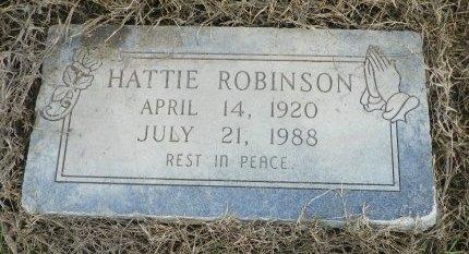 ROBINSON, HATTIE - Crittenden County, Arkansas | HATTIE ROBINSON - Arkansas Gravestone Photos