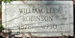 ROBINSON, WILLIAM LEE - Crittenden County, Arkansas   WILLIAM LEE ROBINSON - Arkansas Gravestone Photos