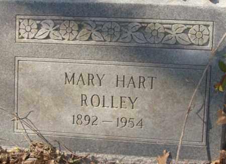 ROLLEY, MARY HART - Crittenden County, Arkansas | MARY HART ROLLEY - Arkansas Gravestone Photos