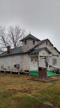*ST JOHN'S A.M.E, ORIGINAL CHURCH - Crittenden County, Arkansas   ORIGINAL CHURCH *ST JOHN'S A.M.E - Arkansas Gravestone Photos