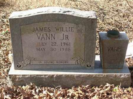 VANN, JR., JAMES WILLIE - Crittenden County, Arkansas   JAMES WILLIE VANN, JR. - Arkansas Gravestone Photos