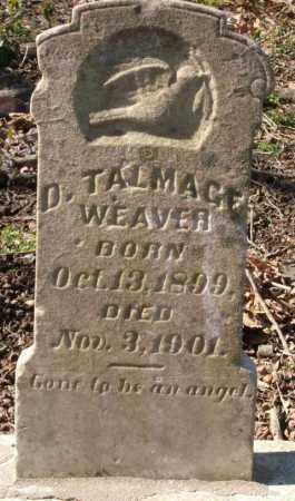 WEAVER, D. TALMAGE - Crittenden County, Arkansas | D. TALMAGE WEAVER - Arkansas Gravestone Photos