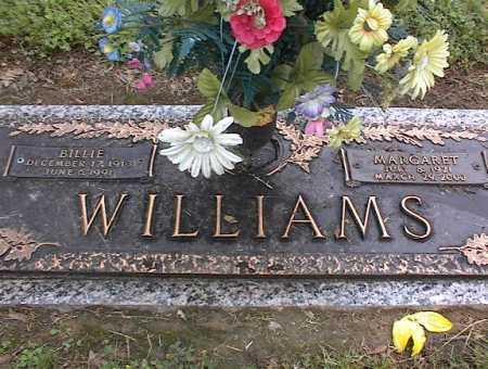 WILLIAMS, BILLIE - Crittenden County, Arkansas | BILLIE WILLIAMS - Arkansas Gravestone Photos