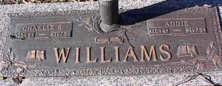 WILLIAMS, CHARLIE S - Crittenden County, Arkansas | CHARLIE S WILLIAMS - Arkansas Gravestone Photos