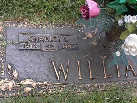 WILLIAMS, CHARLES L - Crittenden County, Arkansas   CHARLES L WILLIAMS - Arkansas Gravestone Photos