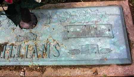 WILLIAMS, CUBA - Crittenden County, Arkansas | CUBA WILLIAMS - Arkansas Gravestone Photos