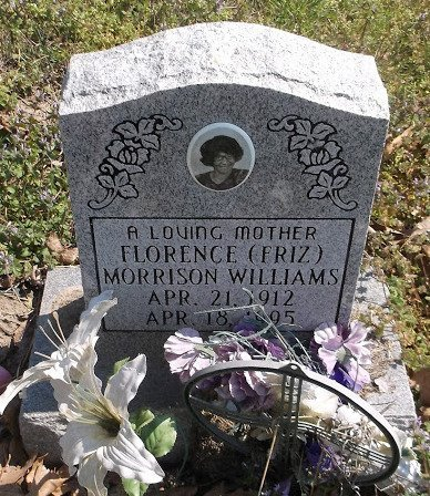"""WILLIAMS, FLORENCE """"FRITZ"""" - Crittenden County, Arkansas 