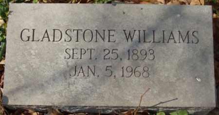 WILLIAMS, GLADSTONE - Crittenden County, Arkansas   GLADSTONE WILLIAMS - Arkansas Gravestone Photos