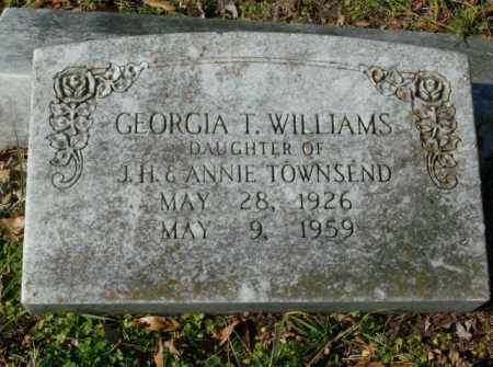 WILLIAMS, GEORGIA T. - Crittenden County, Arkansas | GEORGIA T. WILLIAMS - Arkansas Gravestone Photos