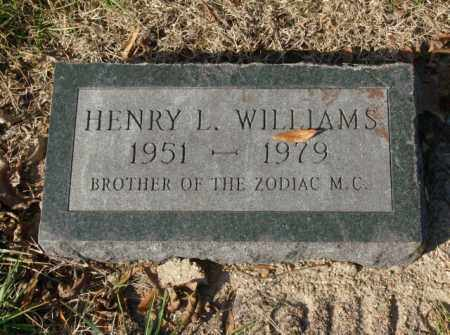 WILLIAMS, HENRY L. - Crittenden County, Arkansas | HENRY L. WILLIAMS - Arkansas Gravestone Photos