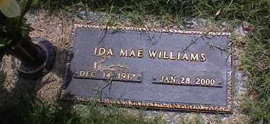 WILLIAMS, IDA MAY - Crittenden County, Arkansas | IDA MAY WILLIAMS - Arkansas Gravestone Photos