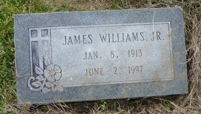 WILLIAMS, JR., JAMES - Crittenden County, Arkansas | JAMES WILLIAMS, JR. - Arkansas Gravestone Photos