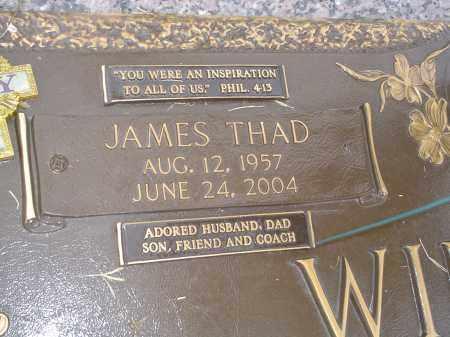 WILLIAMS, JAMES THAD - Crittenden County, Arkansas   JAMES THAD WILLIAMS - Arkansas Gravestone Photos