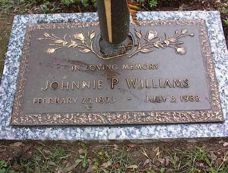 WILLIAMS, JOHNNIE P - Crittenden County, Arkansas | JOHNNIE P WILLIAMS - Arkansas Gravestone Photos