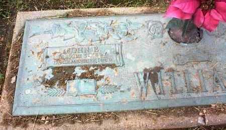 WILLIAMS, JOHN E - Crittenden County, Arkansas | JOHN E WILLIAMS - Arkansas Gravestone Photos