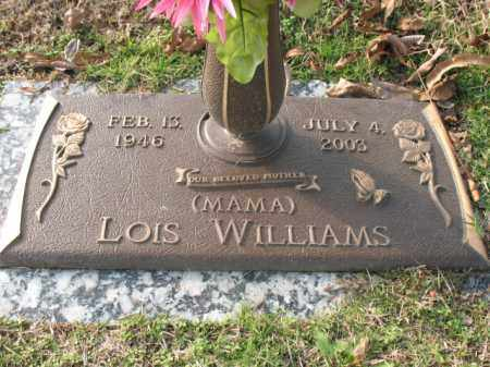 WILLIAMS, LOIS - Crittenden County, Arkansas   LOIS WILLIAMS - Arkansas Gravestone Photos