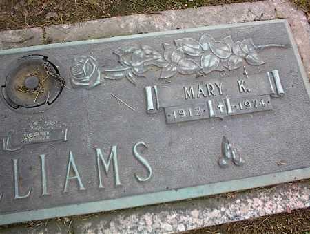 WILLIAMS, MARY K - Crittenden County, Arkansas   MARY K WILLIAMS - Arkansas Gravestone Photos