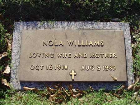 WILLIAMS, NOLA - Crittenden County, Arkansas   NOLA WILLIAMS - Arkansas Gravestone Photos
