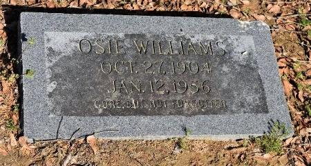 WILLIAMS, OSIE - Crittenden County, Arkansas   OSIE WILLIAMS - Arkansas Gravestone Photos