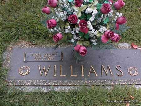 WILLIAMS, ROSS SCOTT - Crittenden County, Arkansas | ROSS SCOTT WILLIAMS - Arkansas Gravestone Photos