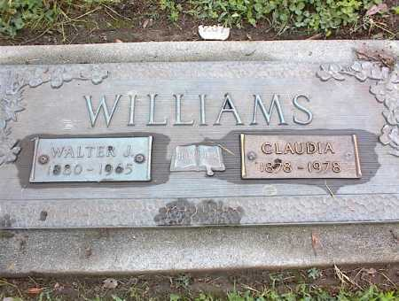 WILLIAMS, WALTER J - Crittenden County, Arkansas | WALTER J WILLIAMS - Arkansas Gravestone Photos
