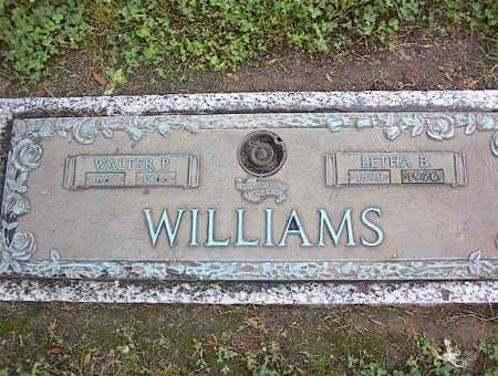 WILLIAMS, WALTER P - Crittenden County, Arkansas | WALTER P WILLIAMS - Arkansas Gravestone Photos