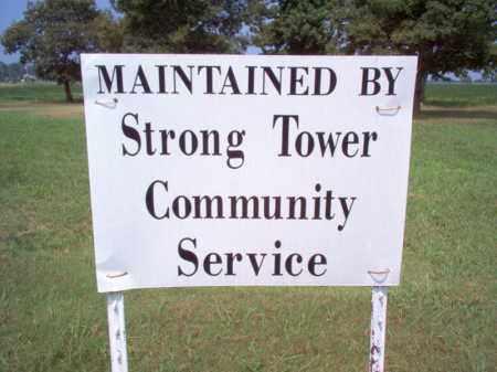 *CEMEMTERY SIGN,  - Cross County, Arkansas |  *CEMEMTERY SIGN - Arkansas Gravestone Photos