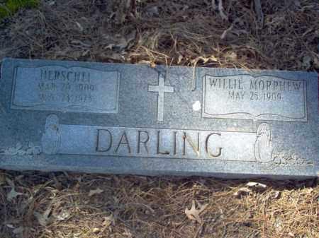 MORPHEW DARLING, WILLIE - Cross County, Arkansas | WILLIE MORPHEW DARLING - Arkansas Gravestone Photos