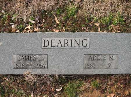 DEARING, JAMES L - Cross County, Arkansas | JAMES L DEARING - Arkansas Gravestone Photos