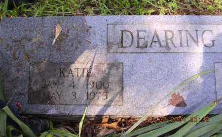 KNIGHT DEARING, KATIE ALENO - Cross County, Arkansas   KATIE ALENO KNIGHT DEARING - Arkansas Gravestone Photos