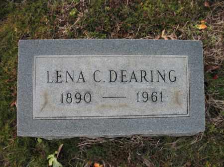 DEARING, LENA C - Cross County, Arkansas | LENA C DEARING - Arkansas Gravestone Photos