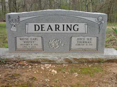 """DEARING, WAYNE EARL """"WHITEY"""" - Cross County, Arkansas   WAYNE EARL """"WHITEY"""" DEARING - Arkansas Gravestone Photos"""