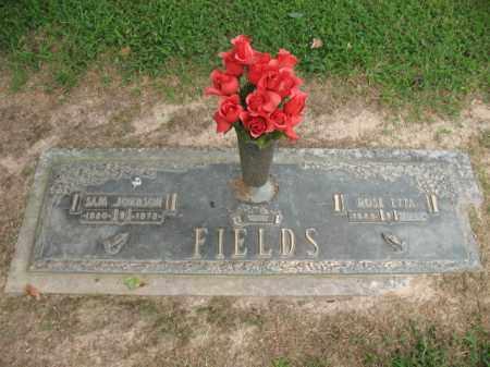 FIELDS, SAM JOHNSON - Cross County, Arkansas | SAM JOHNSON FIELDS - Arkansas Gravestone Photos