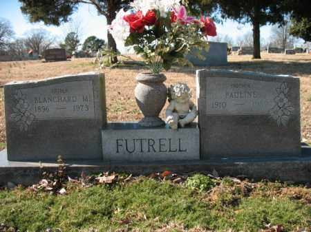 FUTRELL, BLANCHARD M - Cross County, Arkansas | BLANCHARD M FUTRELL - Arkansas Gravestone Photos