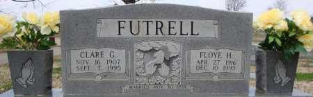 FUTRELL, CLARE G. - Cross County, Arkansas | CLARE G. FUTRELL - Arkansas Gravestone Photos
