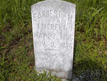 FUTRELL, EARNEST H - Cross County, Arkansas   EARNEST H FUTRELL - Arkansas Gravestone Photos
