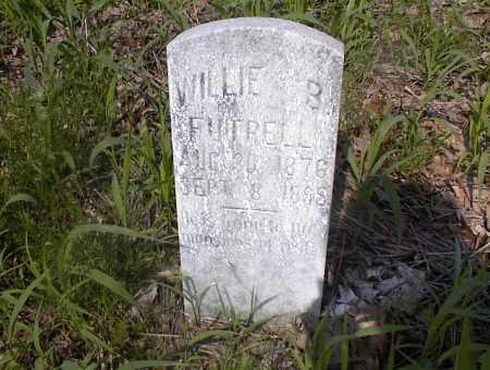 FUTRELL, WILLIE B - Cross County, Arkansas   WILLIE B FUTRELL - Arkansas Gravestone Photos