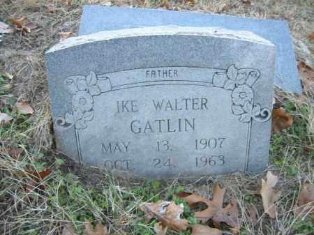 GATLIN, IKE WALTER - Cross County, Arkansas   IKE WALTER GATLIN - Arkansas Gravestone Photos