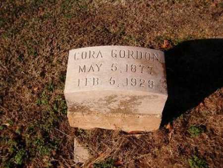 GORDON, CORA - Cross County, Arkansas | CORA GORDON - Arkansas Gravestone Photos