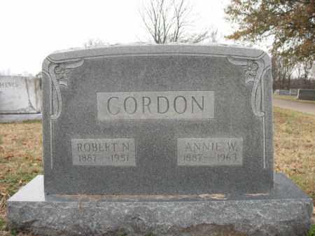 GORDON, ROBERT N - Cross County, Arkansas | ROBERT N GORDON - Arkansas Gravestone Photos