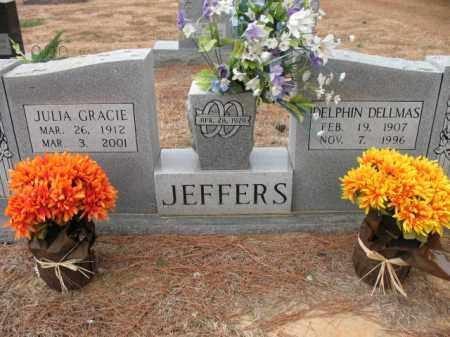 JEFFERS, DELPHIN DELLMAS - Cross County, Arkansas | DELPHIN DELLMAS JEFFERS - Arkansas Gravestone Photos