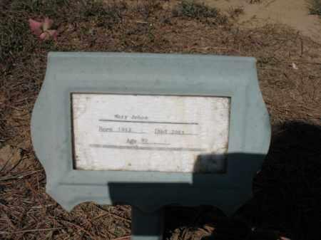 JOHNS, MARY - Cross County, Arkansas | MARY JOHNS - Arkansas Gravestone Photos