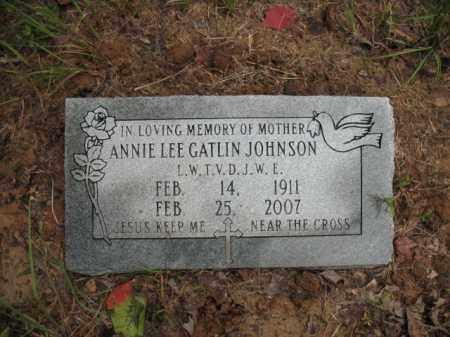 JOHNSON, ANNIE LEE - Cross County, Arkansas | ANNIE LEE JOHNSON - Arkansas Gravestone Photos