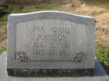 JOHNSON, AVA - Cross County, Arkansas | AVA JOHNSON - Arkansas Gravestone Photos