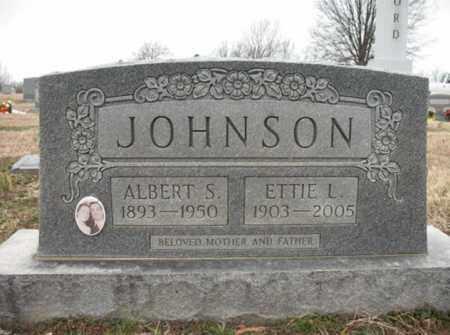 JOHNSON, ETTIE L - Cross County, Arkansas | ETTIE L JOHNSON - Arkansas Gravestone Photos